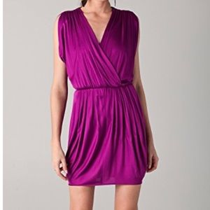 """BLACK HALO - """"Jill Dress"""" in Thistle Color"""